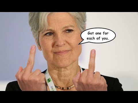 Jill Stein Has a Parting Gift For Trump and Clinton