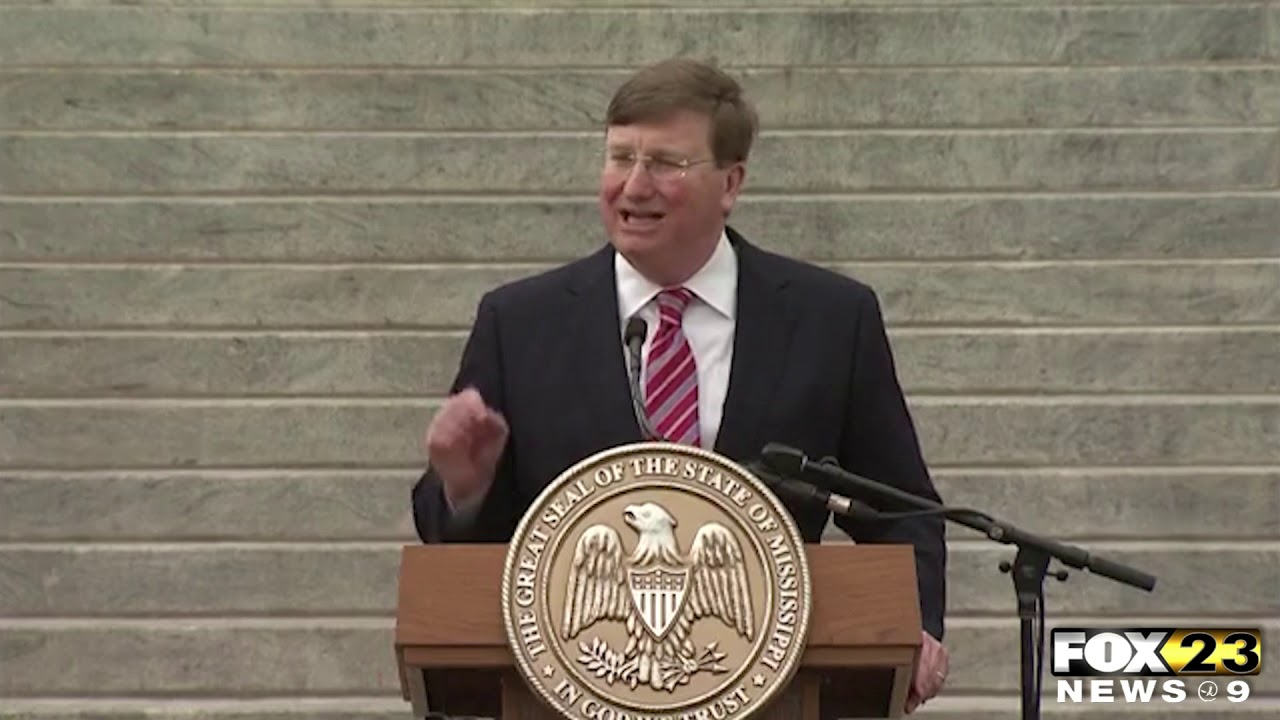 Governor Reeves gives State of State Address