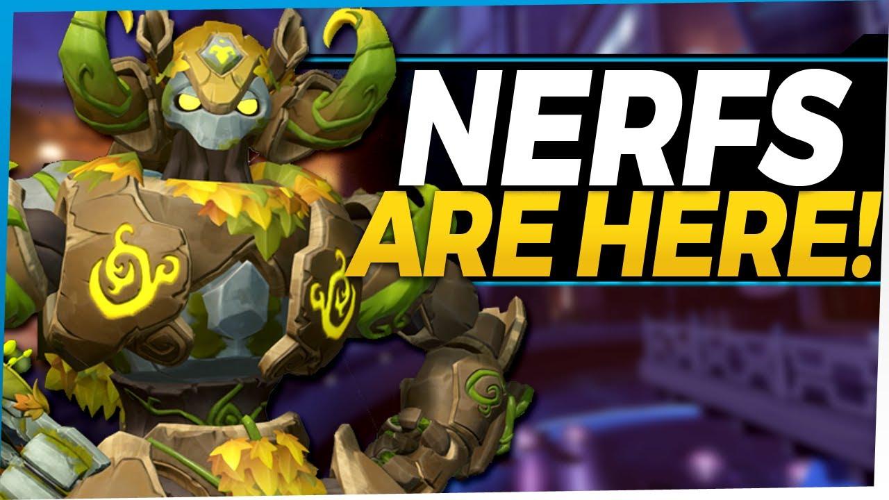 Overwatch Huge NERFS Go Live!