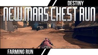 "DESTINY NEW MARS CHEST RUN! Destiny Mars Chest Farming ""Relic Iron Farming Fast"""