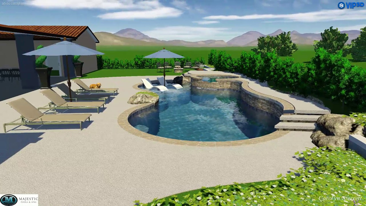 Pool And Spa For The Whole Family To Enjoy Majestic Pools Spas