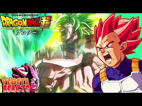 download Vegeta Reacts To Dragon Ball Super: Broly Trailer #3 - (English Sub)