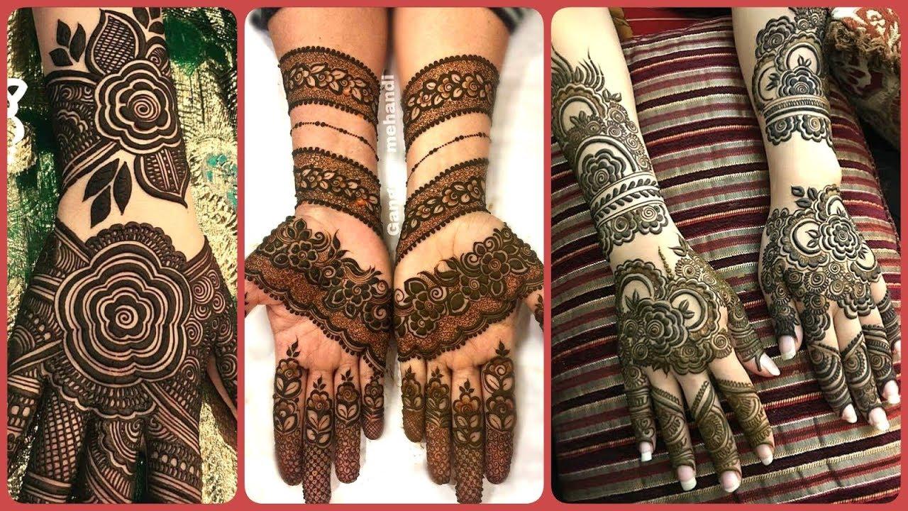 Bridal Henna: Bridal Henna Mehndi Designs For Full Hands Kashees 2019