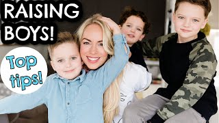 TOP TIPS FOR RAIŠING BOYS! HOW TO RAISE BOYS - THE TRUTH | Emily Norris