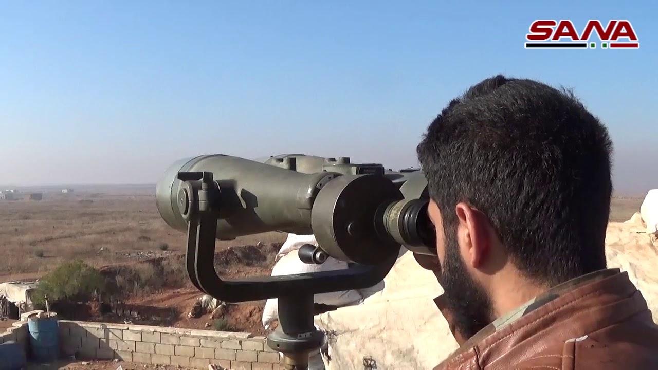 كاميرا سانا برفقة وحدات الجيش في المناطق المحررة بريف إدلب الجنوبي الشرقي