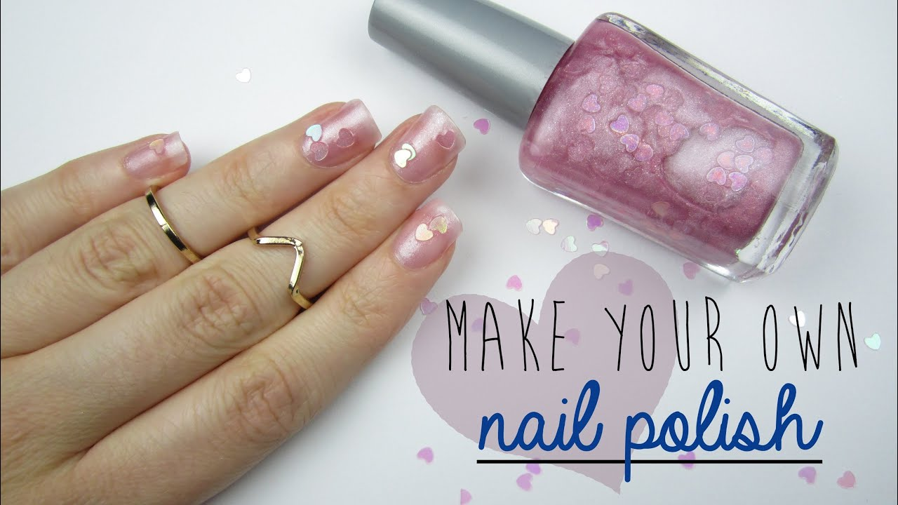 Make Your Own Nail Polish! - YouTube