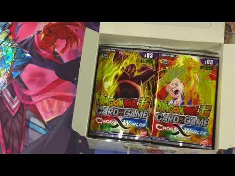 Dragon Ball Super Cross World's Box opening