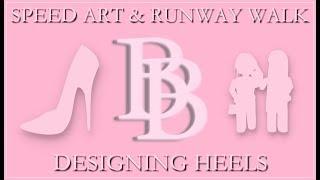 Speed Art: Designing Heels on Roblox! 🌸