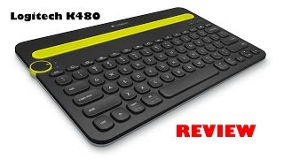 Logitech Bluetooth Multi Device Keyboard K480 Review