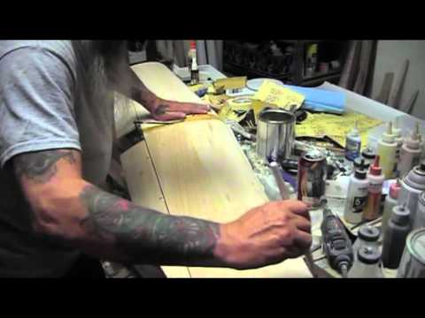 How to Silkspan a sheeted wing