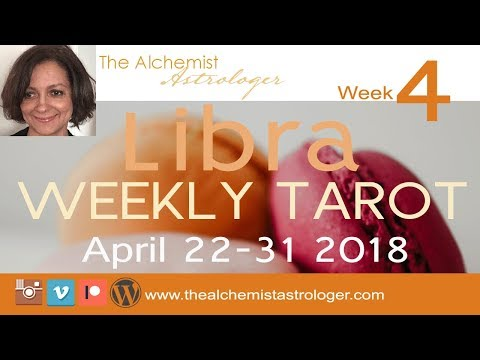 """Libra April 22-30 2018/Week 4 General Tarot Reading - """"Prime rate"""""""