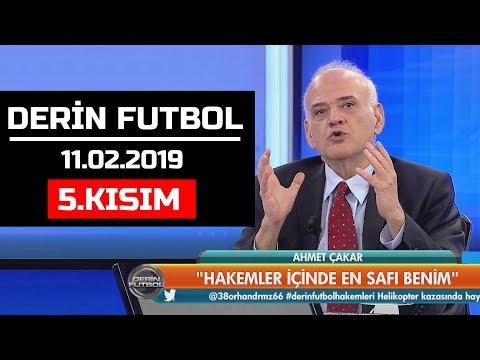 (..) Derin Futbol 11 Şubat 2019 Kısım 5/6 - Beyaz TV