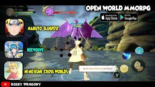 Gambar cover MMORPG  Wajib Download !!! Naruto SLugfest (ENG)  , ReEvolve , Ni no Kuni: Cross Worlds - Android