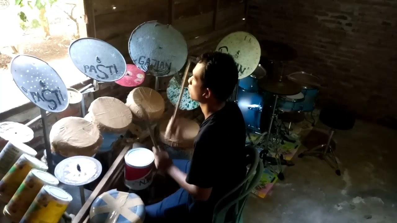 KAPTEN-Pemburu cinta (drum cover)