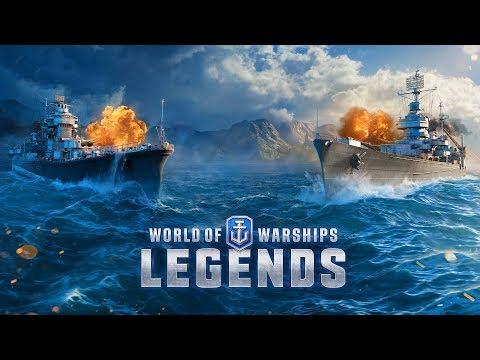 【PS4】『World of Warships: Legends (ワールドオブウォーシップス: レジェンズ)』~大海原の覇者となれ!~