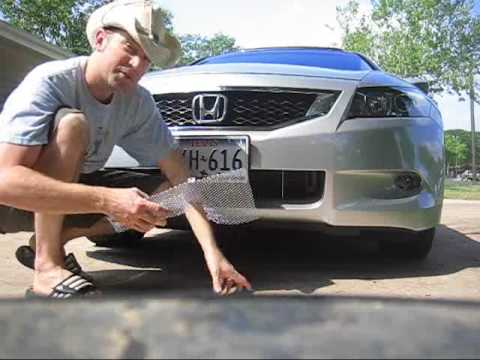2009 Honda Accord Condenser Grille For About 10 Youtube