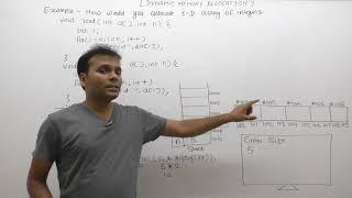 كيفية إنشاء أحد الأبعاد مجموعة حيوي في c |Part979| C لغة جافا المهنية