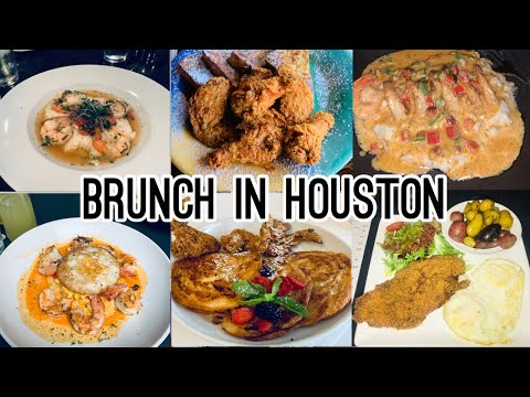 BEST BRUNCH SPOTS IN HOUSTON