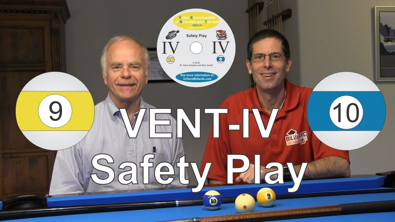 VENT IV - Safety Play - Video Encyclopedia of Nine-ball and Ten-ball - Instructional DVD