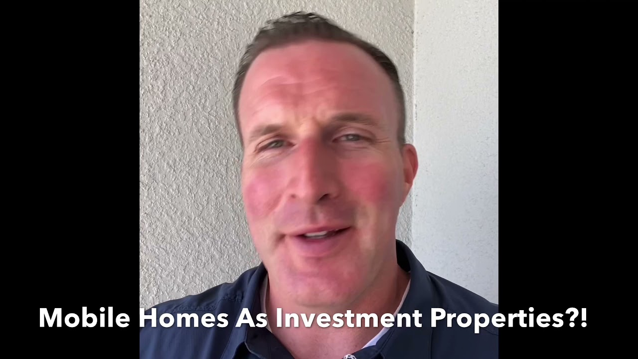 Mobile Homes As Investments?!