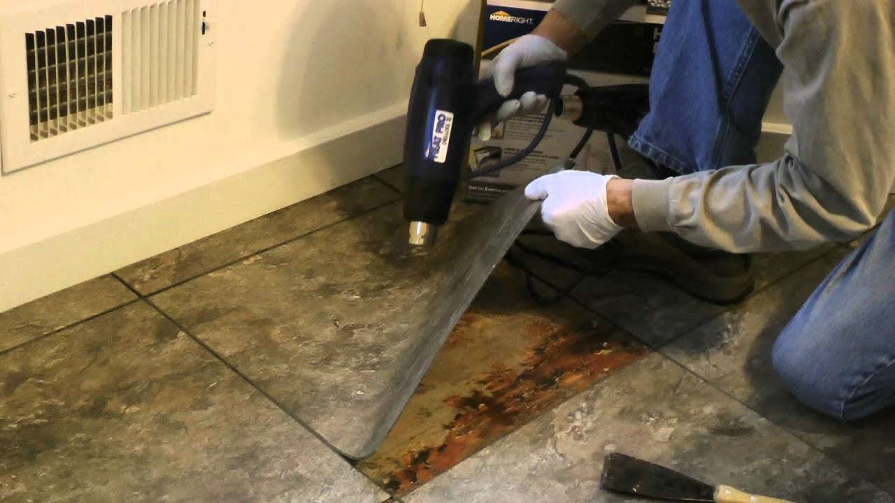Remove floor tile 1 youtube dailygadgetfo Choice Image