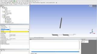 Видеоурок CADFEM VL1217 - Моделирование колебаний пластины с использованием технологии FSI