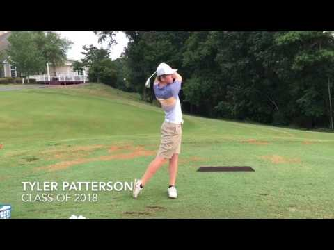 Tyler Patterson - Class of 2018  - College Golf Recruiting Video