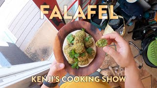 How to Make Falafel | Kenji's Cooking Show