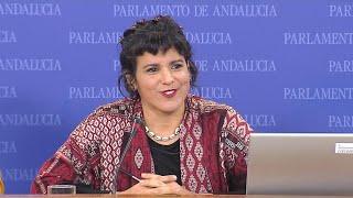 Teresa Rodríguez no aclara si optará en marzo a seguir liderando Podemos Andalucía