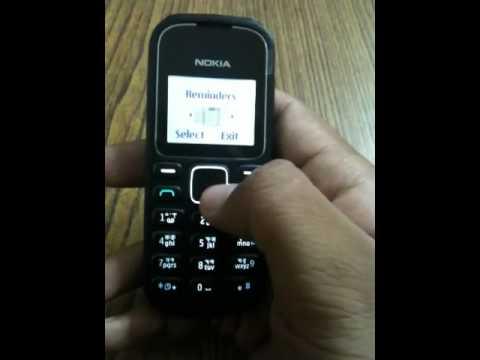 Nokia 1280 - YouTube