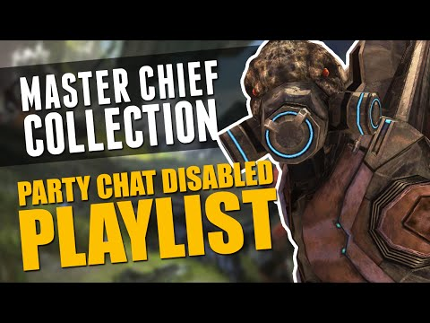 Halo Master Chief Collection - Party Chat Disabled Playlist