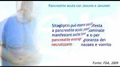 Pancreatite acuta con Januvia e Janumet