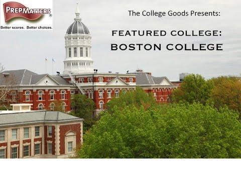 The College Goods Episode 6 Featured College:  Boston College