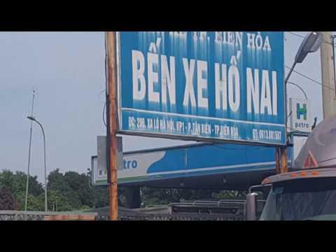 Xa lộ Biên Hòa, Bến xe Hố Nai, Tam Hiệp,ăn Tết Tây,VietNam, Dec,31.2017