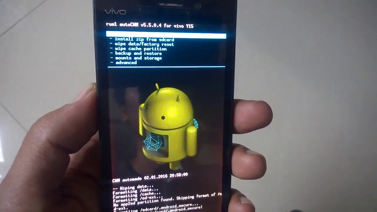 Hard Reset Vivo Y15 Youtube