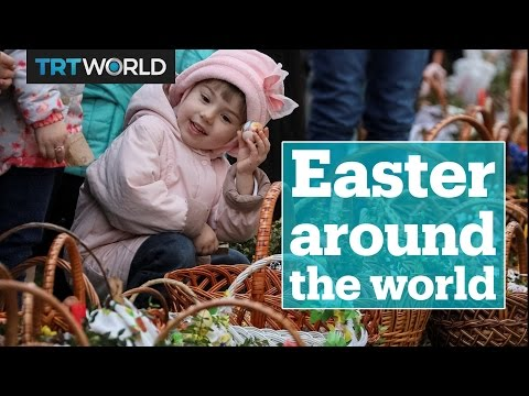 Giant omelettes and pussy willow whips: Easter traditions around the world