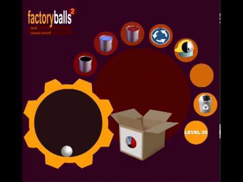Factory Balls 2 - level 29 - YouTube