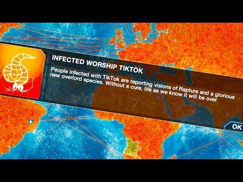 TikTok Mind Controls THE WORLD In Plague Inc: Evolution
