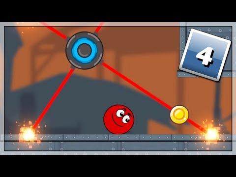 Fabryka Pełna Przeszkód! Gry Online: Ball Hero Adventure: Red Bounce Ball #4