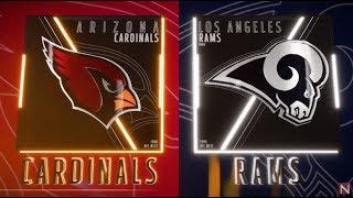 Arizona Cardinals vs Los Angeles Rams  Madden 19 Full Game Simulation Nation