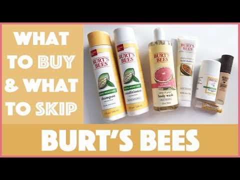 Burt's Bees Haul & Review