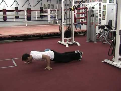 Isometrics MMA Part 1: Pushup