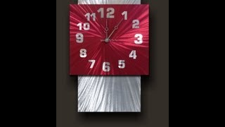Metal Wall Clocks Australia - Metal Wall Clocks Australia Modern