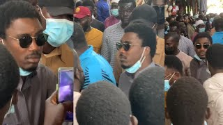 Ente#rement de Thione Seck, Wally Seck inconsol@ble, Youssou Ndour dans les....