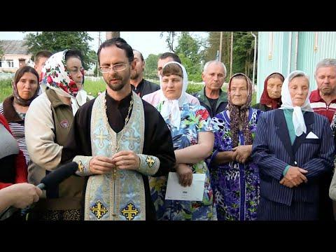 Верующие села Будераж