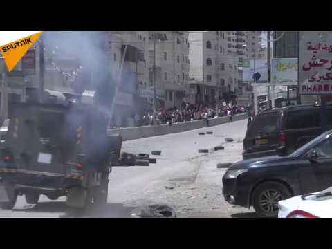 Palestine: Israeli Forces and Protesters Clash in Ramallah