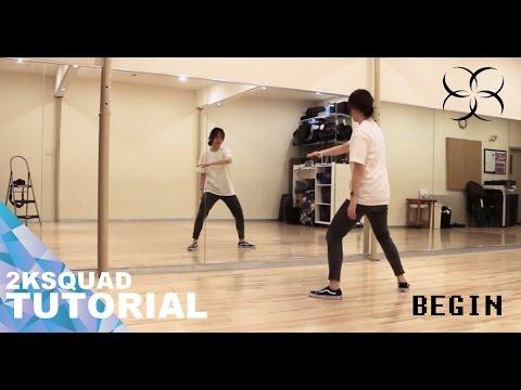[TUTORIAL] BTS JUNGKOOK (방탄소년단 정국) -  BEGIN | Dance Tutorial by 2KSQUAD