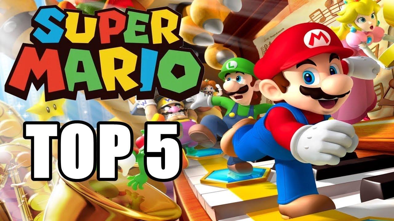Top 5 Los Mejores Super Mario Bros de Todos los Tiempos