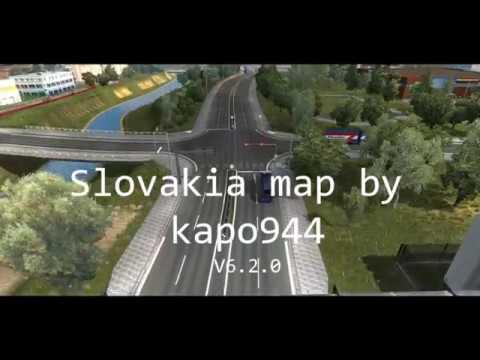 -TRAILER- Slovakia map by kappo944 V6.2.0