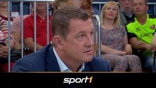 Hitzige Debatte um Abseits-Tor des Hamburger SV | SPORT1 - CHECK24 DOPPELPASS